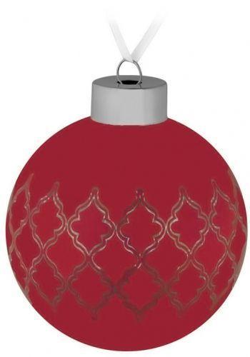 Елочный шар «King», красный