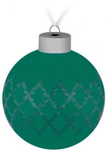Елочный шар «King», зеленый