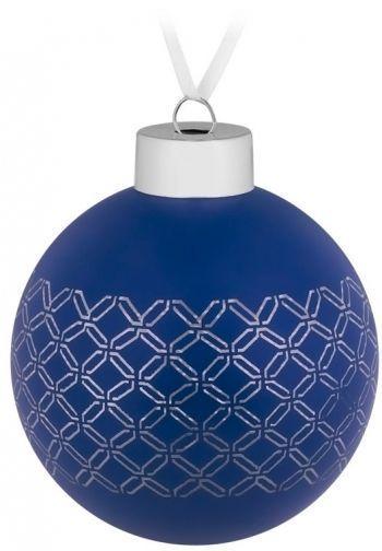 Елочный шар «Queen», синий