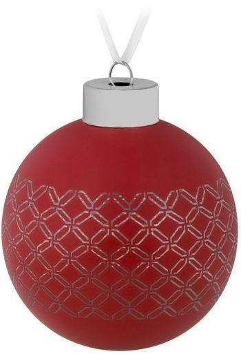 Елочный шар «Queen», красный
