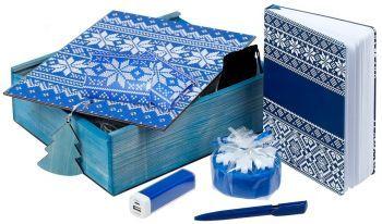 Подарочный новогодний набор «Деловой», синий