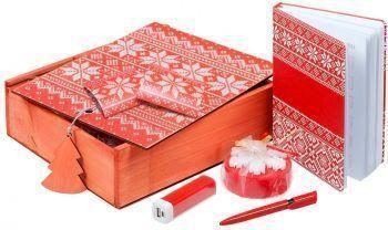 Подарочный новогодний набор «Деловой», красный