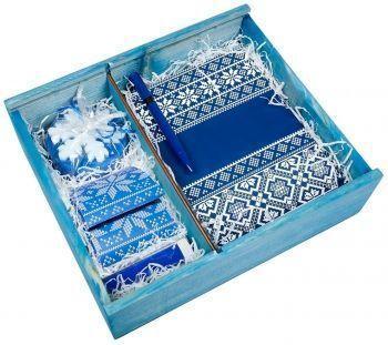 Подарочный новогодний набор «Деловой», общий вид