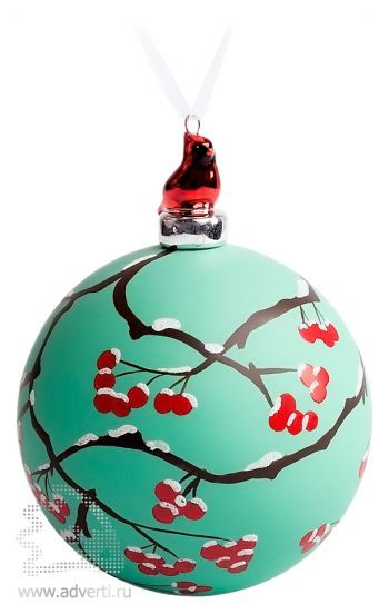 Елочный шар с фигуркой «Зимняя ягода»