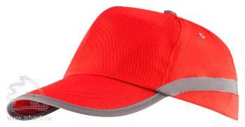Бейсболка «Makito Cap Tarea», красная