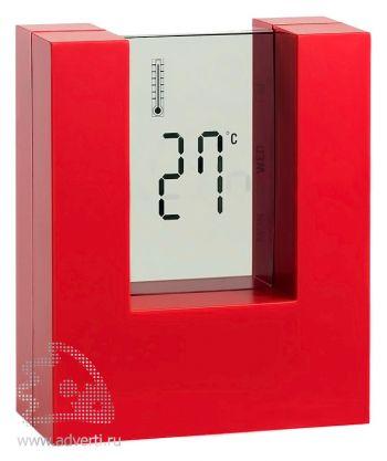 Настольные часы «Nester», красные