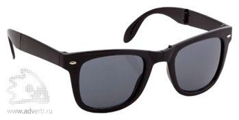 Очки солнцезащитные складные «Stifel», черные
