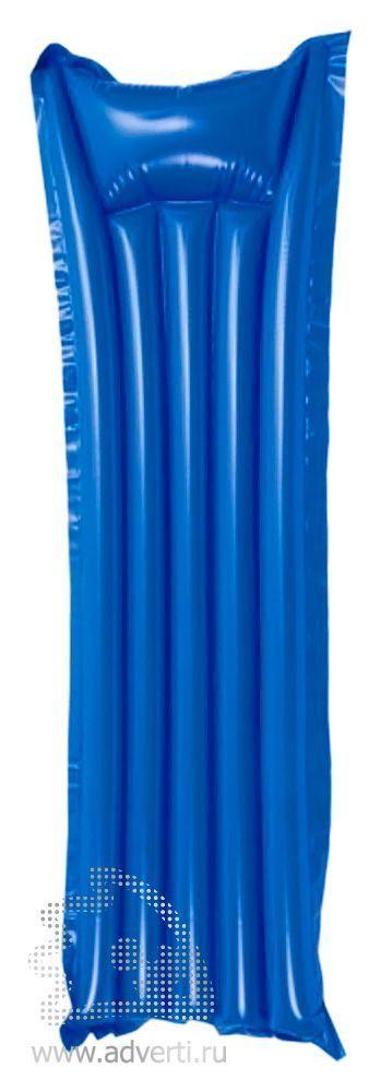 Надувной матрас «Pumper», синий