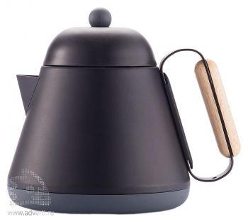 Чайник «Teako», заварная чашка в опущенном положении