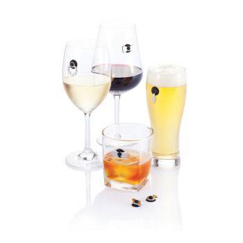 Набор маркеров для бокалов Cheers, пример использования