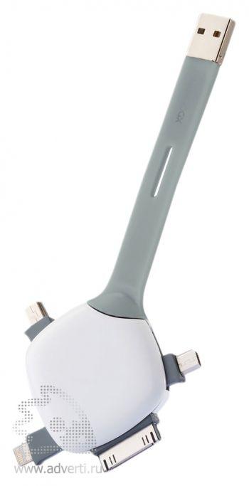 Универсальный USB-кабель «Quatro», переходники