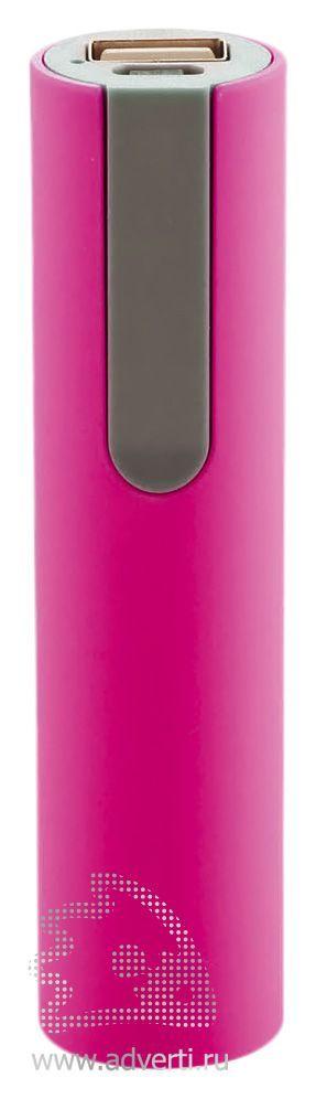 Зарядное устройство 2200 мА/ч, розовое