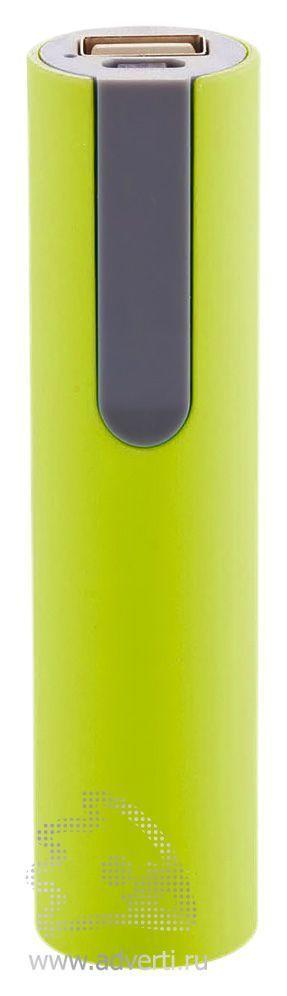 Зарядное устройство 2200 мА/ч, салатовое