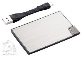 Зарядное устройство в форме кредитной карты, 1500 mAh