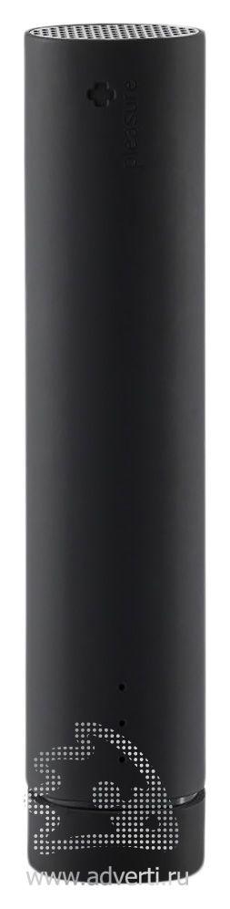 Зарядное устройство со встроенной колонкой, 3500 mAh, черное