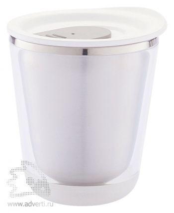 Компактный термостакан «Dia», белый