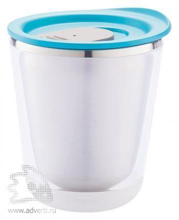 Компактный термостакан «Dia», голубой