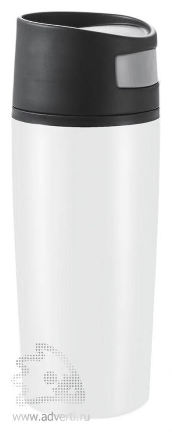 Герметичный термостакан «Auto», белый