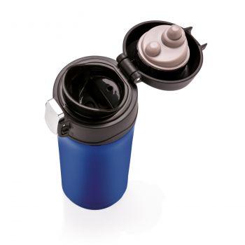 Термокружка Easy lock, 300 мл, синяя, крышка
