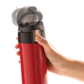 Термокружка Easy lock, 300 мл, красная, лёгкость в обращении