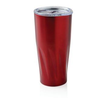 Вакуумная термокружка Copper, красная