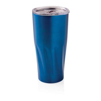 Вакуумная термокружка Copper, синяя