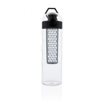 Герметичная бутылка для воды с контейнером для фруктов Honeycomb, вид спереди