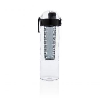 Герметичная бутылка для воды с контейнером для фруктов Honeycomb, вид с другого бока