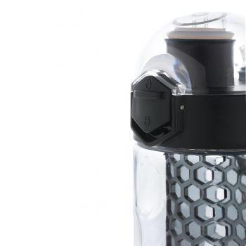 Герметичная бутылка для воды с контейнером для фруктов Honeycomb, блокировщик кнопки