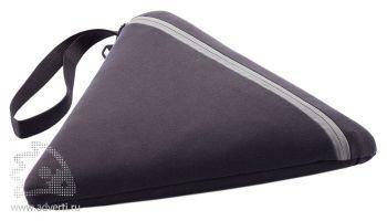 Плед для пикника «Hexo», серый, в чехле