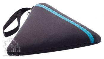 Плед для пикника «Hexo», синий, в чехле