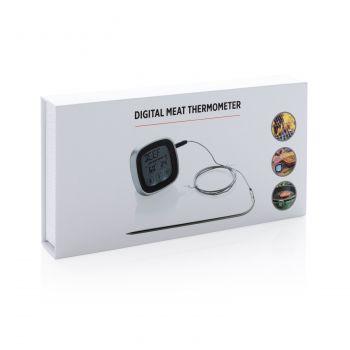 Цифровой термометр для мяса, в упаковке