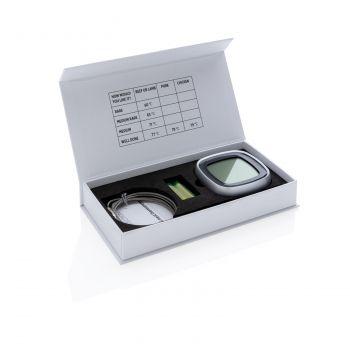 Цифровой термометр для мяса, полный комплект