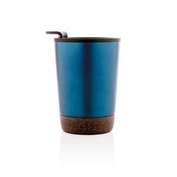 Термокружка «Cork», синяя