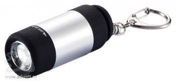 Светодиодный брелок-фонарик, заряжается от USB