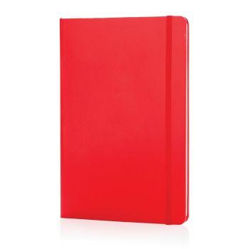 Блокнот для записей «Basic», в твердой обложке, А5, красный