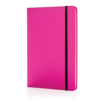 Блокнот для записей «Basic», в твердой обложке PU, А5, розовый