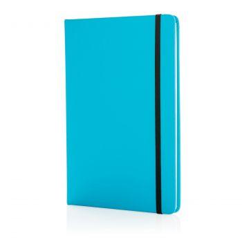 Блокнот для записей «Basic», в твердой обложке PU, А5, голубой