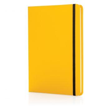 Блокнот для записей «Basic», в твердой обложке PU, А5, желтый