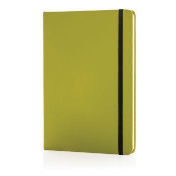 Блокнот для записей «Basic», в твердой обложке PU, А5, зеленый