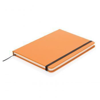 Блокнот для записей «Basic», в твердой обложке PU, А5, оранжевый
