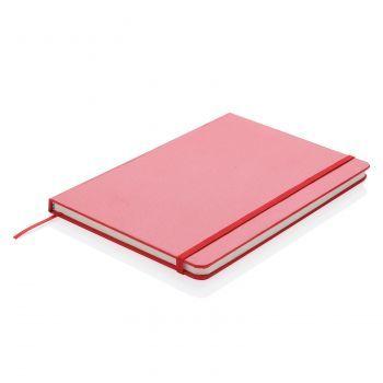 Блокнот с закладкой-фонариком, красный