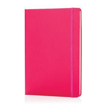 Блокнот для записей «Basic», в твердой обложке, А5, розовый