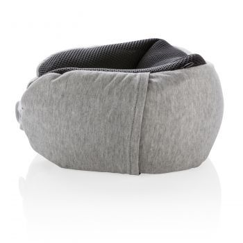 Подушка для путешествий «Deluxe», с наполнителем Microbead, сбоку