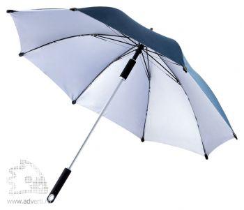 "Зонт-трость «Hurricane 23""», темно-синий"