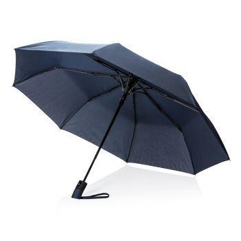 """Складной зонт-полуавтомат «Deluxe 21""""», синий"""