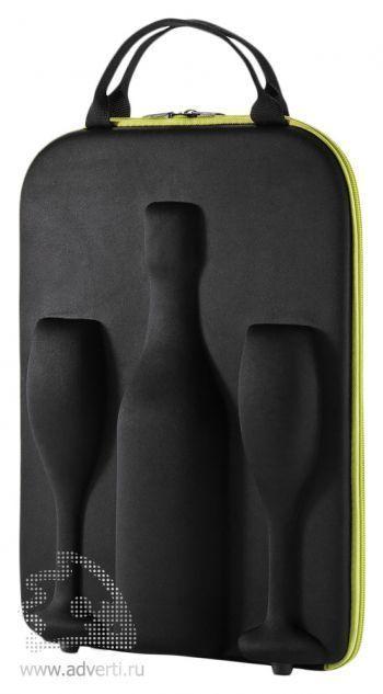 Кейс «Flute» для шампанского и двух бокалов
