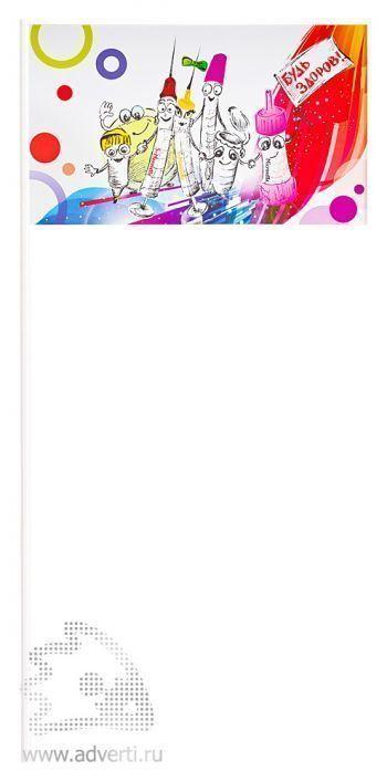 Бумажный флажок на пластиковой основе