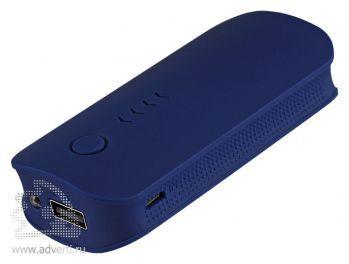 Внешний аккумулятор «City PB» 4000 mAh, синий