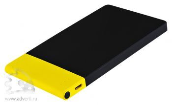 Внешний аккумулятор «Aurora PB» 4600 mAh, черный с желтым